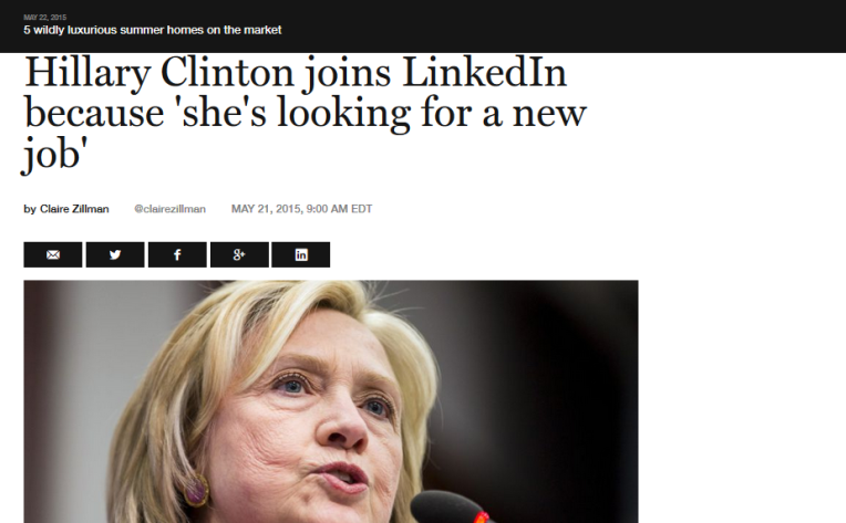 Hillary clinton is looking for a job politic social media management digitalebox